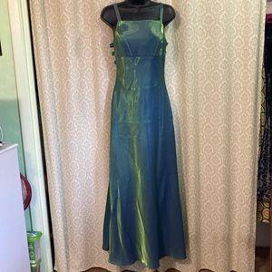 Faviana iridescent formal dress